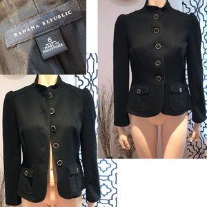 Banana Republic Wool MIlitary Suit jacket Blazer